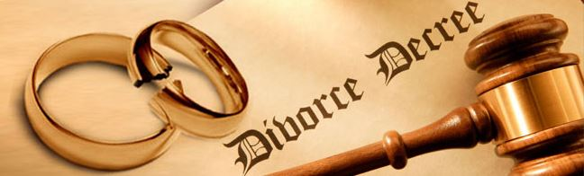 legal divorce decree
